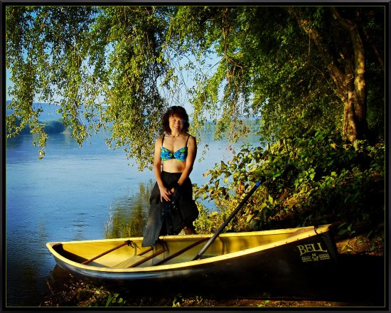 Marysville, Pensilvanya: Canoeing along the Susquehanna River