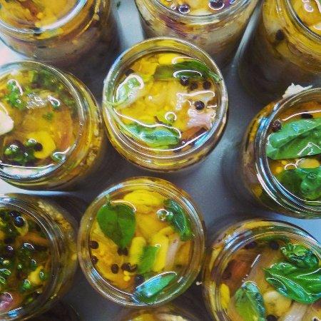 Foiano Della Chiana, Italia: melanzane sott'olio..grazie orto