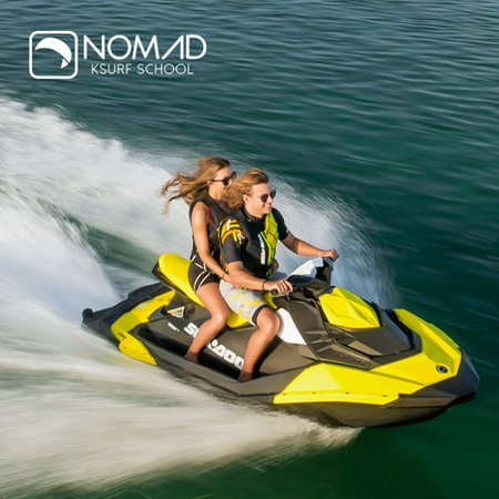 La Ventana, Μεξικό: Jet Ski assisted coaching at Nomad Kitesurf. Request your quote and maximise your time in the wa