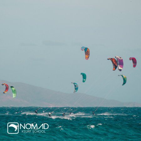 Book a downwinder with Nomad Kitesurf in La Ventana, Baja California Sur, Mexico