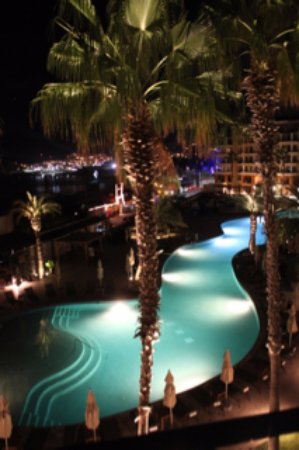 Casa Dorada Los Cabos Resort & Spa: Night is magical when sitting on the room balcony.