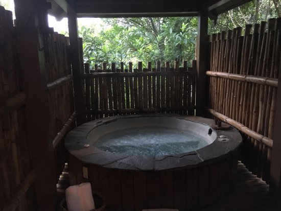 Bajos del Toro, Costa Rica: Private Hot Tub