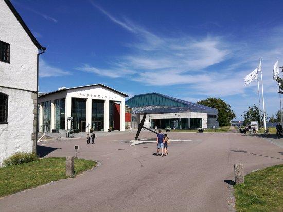 Karlskrona, Schweden: Spennende museum om svensk marin historie - og en grunnstøtt Sovjetisk ubåt!