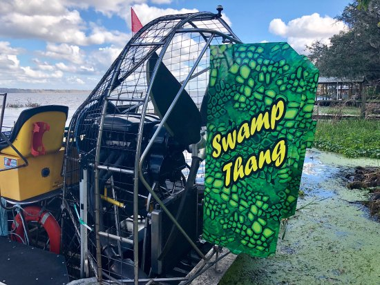 Lake Panasoffkee, FL: Swamp Fever Airboat Adventures