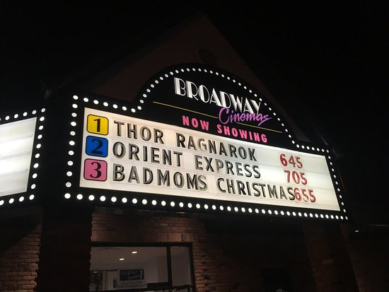 Tillsonburg, Canada: The cinemas.