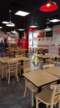 Five Guys Famous Burgers
