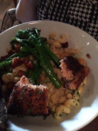 Purcellville, VA: Grilled Salmon
