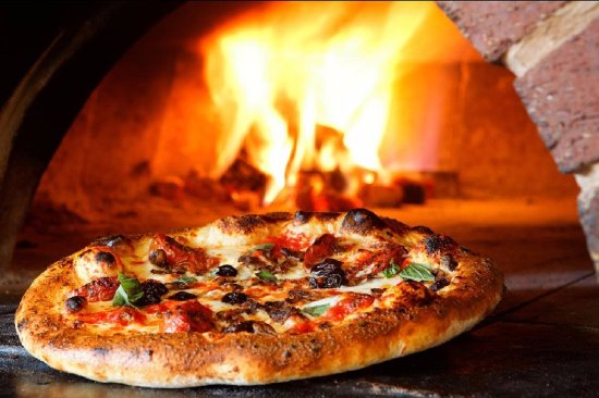 Montrose, Kolorado: Wood Fired Pizza