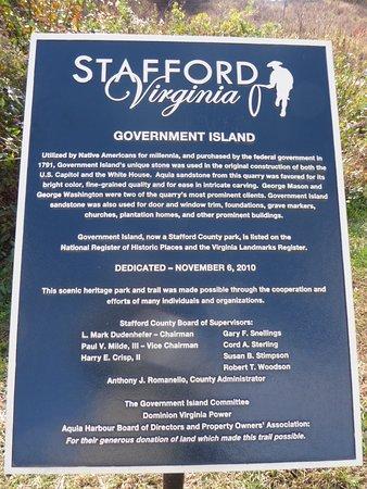 Government Island State Park Stafford Va