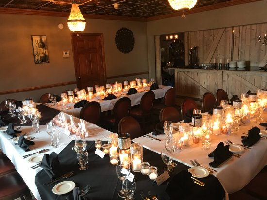 La Veranda: private party room