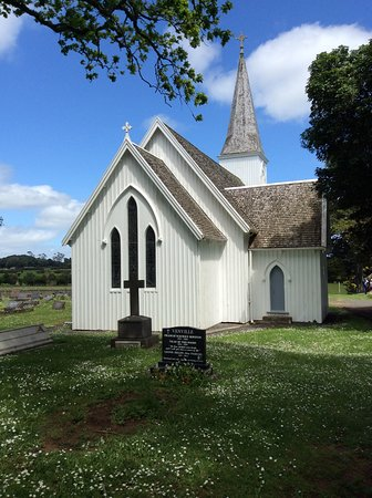 Kerikeri, Nueva Zelanda: Front of the church