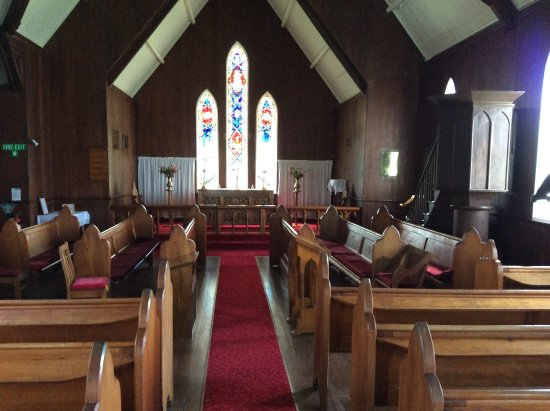 Kerikeri, Nueva Zelanda: Church sanctuary