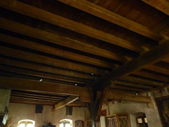 Romainmotier, Suisse : prise de vue du plafond
