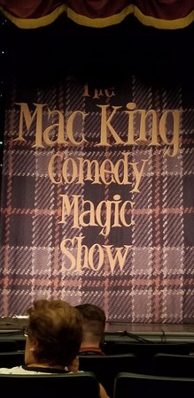 Mac King Comedy Magic Show: Waiting for the show to start