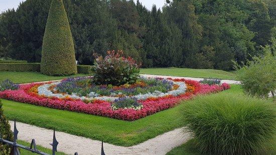 Lednice, Czech Republic: part of the gardens