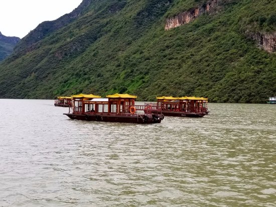 Yichang, Kina: Local water transport