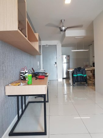 Nice new apartment, great stay..