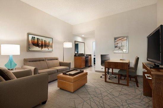 Brea, Kalifornia: 1 King Suite Living