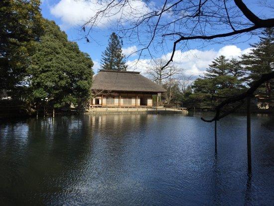 Osaki, Jepang: 池の周りを散策できる