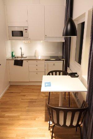 Kista, Sverige: Kitchenette