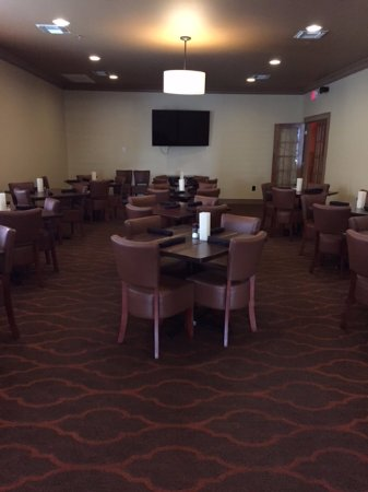 Hartsville, Carolina Selatan: Private dining room
