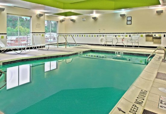 Indoor Pool Whirlpool Picture Of Fairfield Inn Suites By Marriott Harrisburg West New