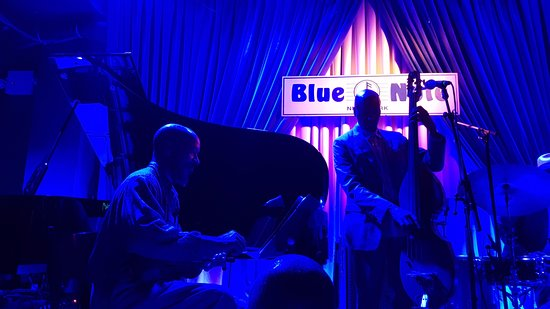 Blue Note : Members of Cassandra Wilson's excellent band take to the stage.