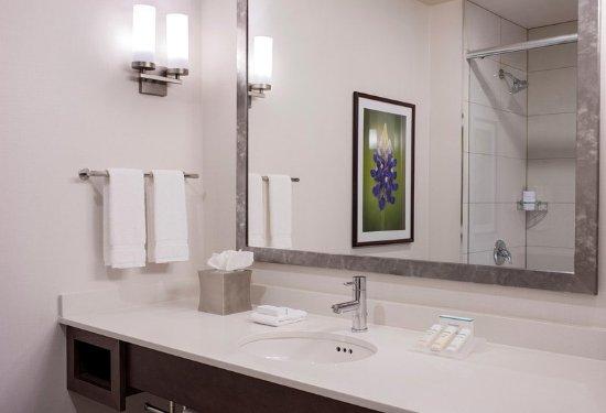 Guest Bathroom Vanity Picture Of Hilton Garden Inn Downtown Dallas - Bathroom vanities dallas