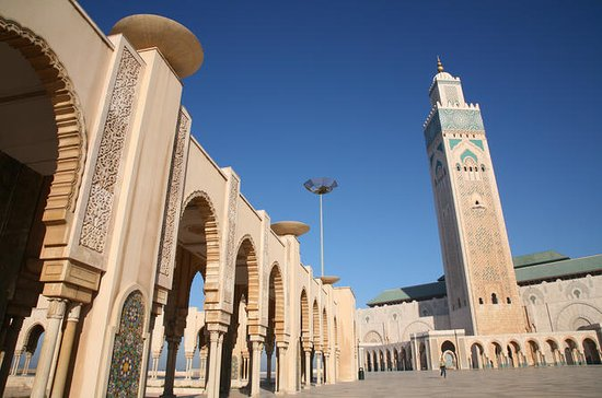 Casablanca Half-Day Tour: Hassan II...