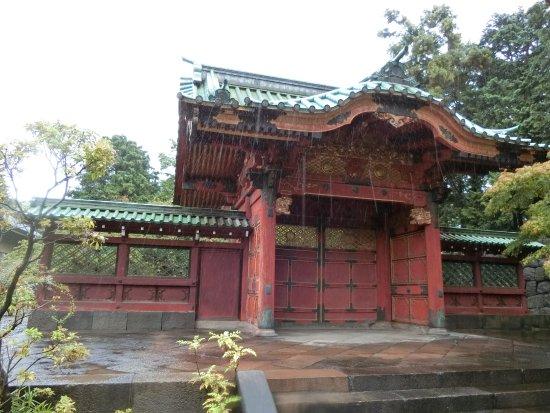 Tokugawa Tsunayoshi Mausoleum Imperial Scroll Gate