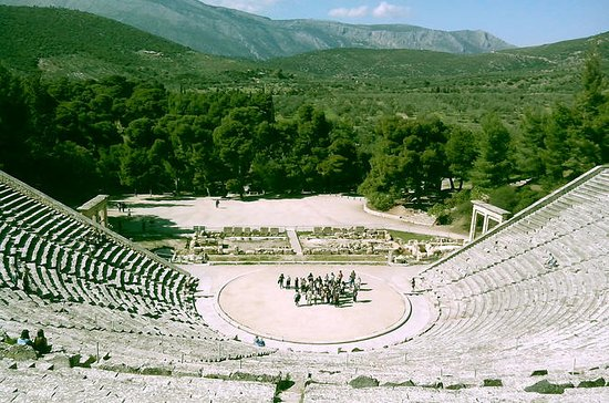 Epidaurus, Nafplio, and Mycenae...