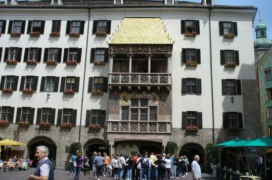 Innsbruck historical center (Austria...