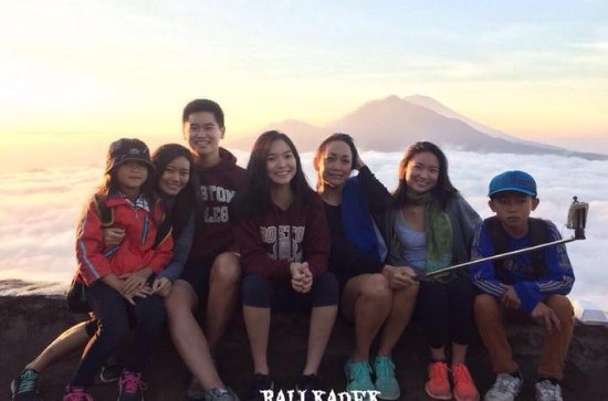 Mount Batur Sunrise Trekking Guide with Breakfast and Natural Hot...