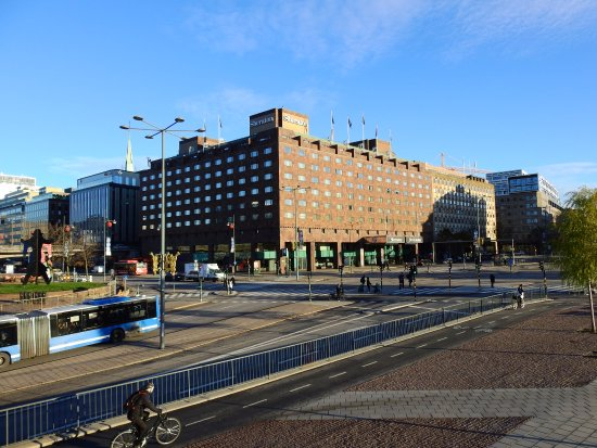 Sheraton Stockholm Hotel: View of Hotel