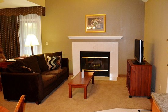 Urbana, IL: Double King Loft Suite Living Room