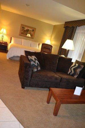 Urbana, IL: Double King Loft Suite - Lower Level