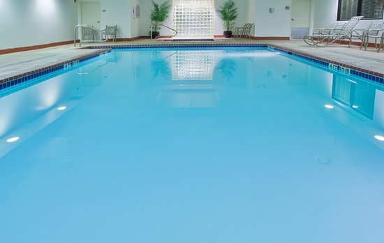 Ashland, VA: Our heated, indoor swimming pool is perfect year-round!