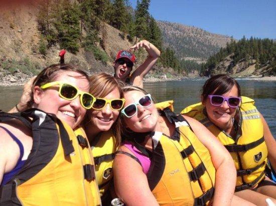 Alberton, Монтана: Girls Day on the River