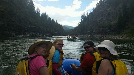 Alberton, MT: Family River Trip