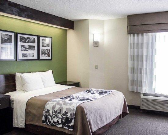 Garner, Carolina del Norte: Guest room with queen bed