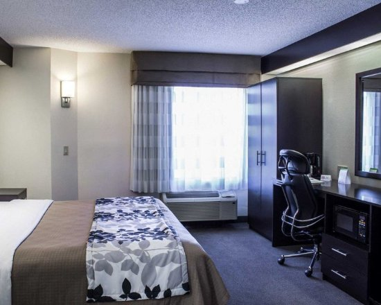 Garner, Carolina del Norte: Guest room with microwave
