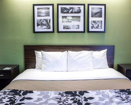 Garner, Carolina del Norte: Guest room with king bed