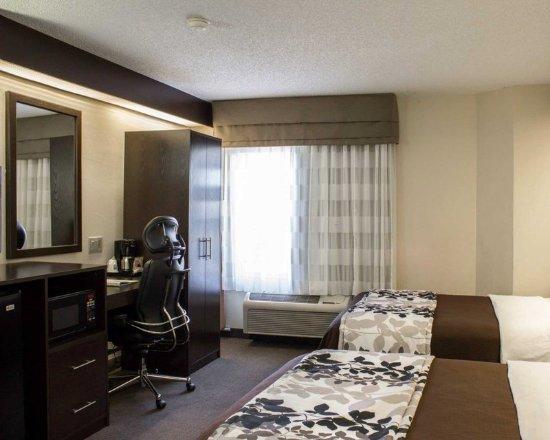 Garner, Carolina del Norte: Guest room with two beds