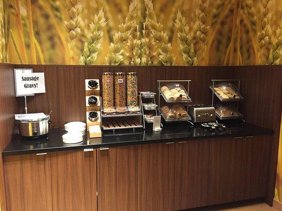 Dupont, WA: breakfast selection