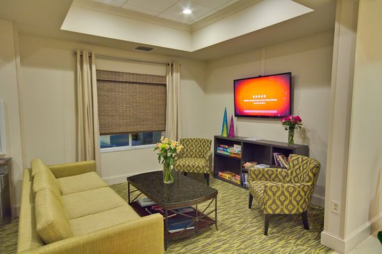 Holiday Inn Express Hotel & Suites New Tampa I-75 Bruce B. Downs: Lobby Lounge