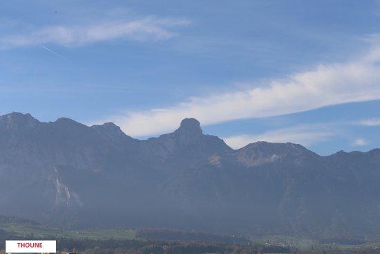 Panorama Rundweg Thunersee Foto