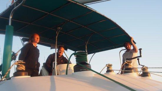 Coral Bay, Australia: Our wonderful crew!