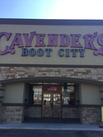 Cavender's Boot Inc