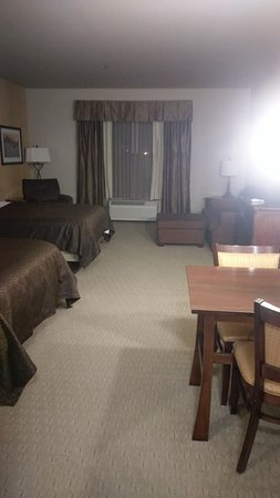 Fully stocked suite - very roomy