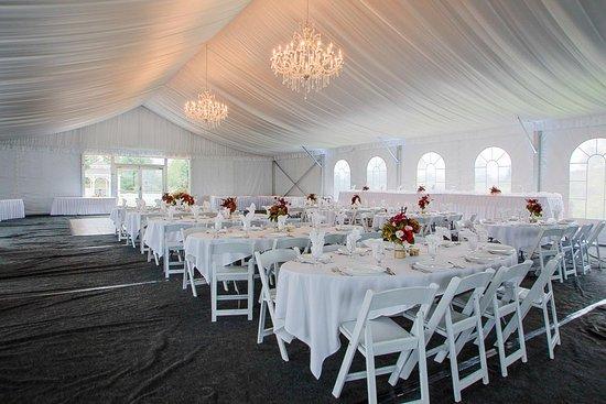 Waupaca Ale House: White House Tent